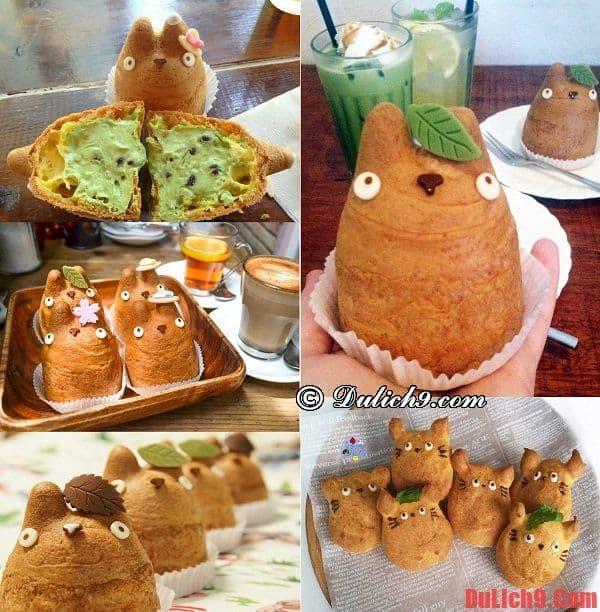 Bánh su kem Totoro - Món ăn tráng miệng độc đáo và nổi tiếng không thể bỏ qua khi du lịch Tokyo