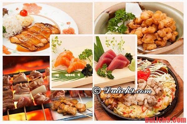 Du lịch Tokyo, Nhật Bản thưởng thức những món ăn ngon và đẹp mắt