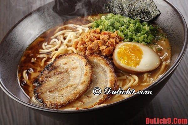 Tantanmen - Món ăn đặc sản ngon miệng, đẹp mắt nhất định phải ăn một lần khi du lịch Tokyo