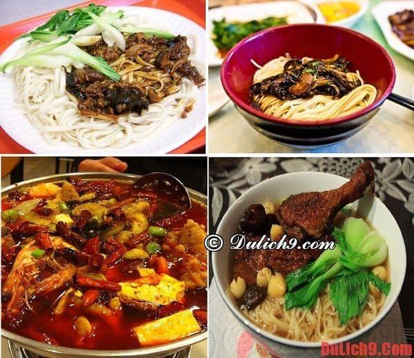 Những món mì ngon, hấp dẫn nhất định phải ăn khi du lịch Thượng Hải