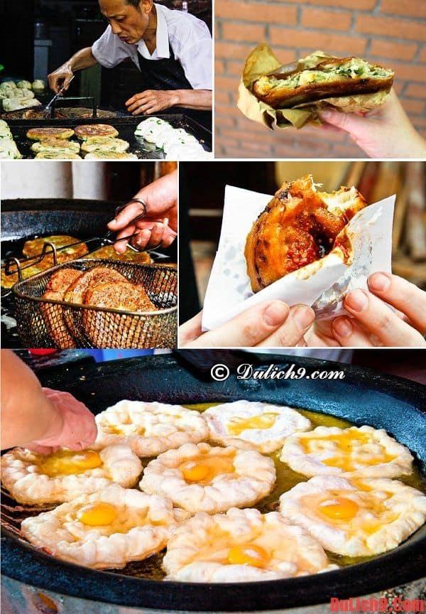 Những món bánh ăn vặt độc đáo và nổi tiếng phải thử một lần khi du lịch Thượng Hải