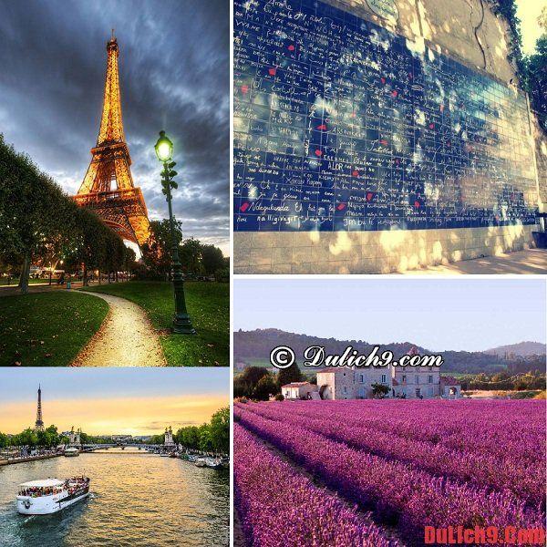 Tour du lịch trăng mật lãng mạn và ngọt ngào ở Pháp. Du lịch trăng mật Châu Âu nên đi đâu?