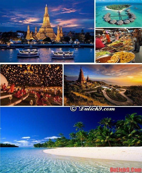 Điểm du lịch trăng mật giá rẻ, độc đáo, hấp dẫn và nổi tiếng, giá rẻ ở Đông Nam Á