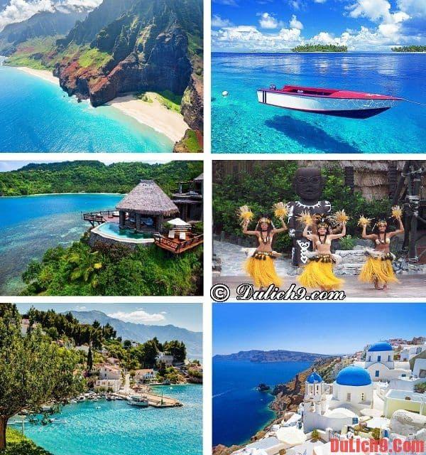 Những hòn đảo và bãi biển tuyệt đẹp nên đến trong kỳ du lịch trăng mật trải nghiệm, tiết kiệm và vui vẻ