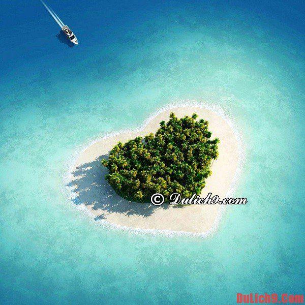 Nên đi hưởng tuần trăng mật ở đâu? Các hòn đảo, bãi biển du lịch trăng mật lý tưởng, đẹp, lãng mạn và giá rẻ nổi tiếng trên thế giới