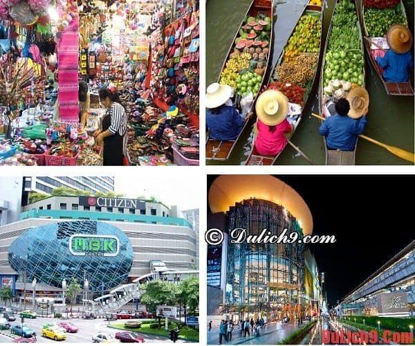 Thiên đường mua sắm Thái Lan - Lý do để bạn nhất định phải du lịch Thái Lan nếu là một tín đồ mua sắm. Có nên đi du lịch Thái Lan hay không?