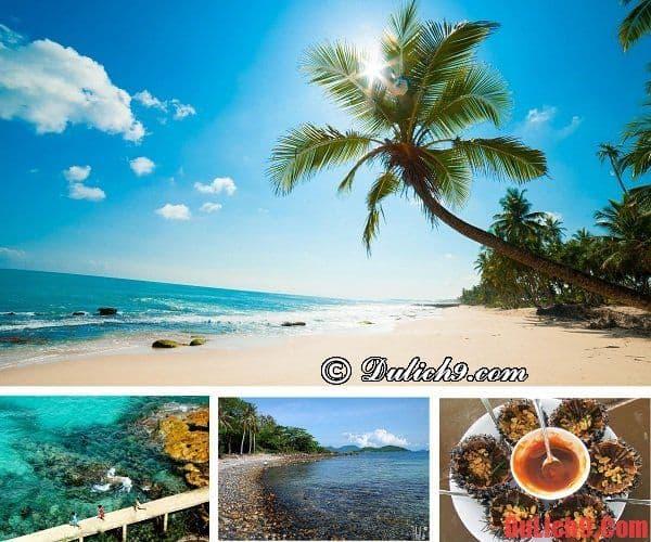 Điểm du lịch biển đảo nổi tiếng ở miền Nam nên đi nhất trong 3 ngày nghỉ tết dương lịch. Du lịch tết dương lịch ở đâu miền nam đẹp, lý tưởng nhất