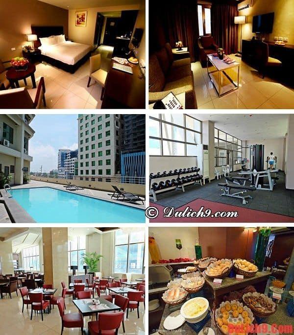 Nên ở khách sạn nào khi du lịch Cebu? Khách sạn ở Cebu, Philippines sạch đẹp, vị trí thuận tiện