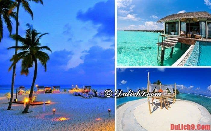 Nghỉ trăng mật ở Maldives