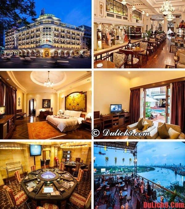 Khách sạn 5 sao đẳng cấp, hiện đại, tiện nghi, sang trọng, gần chợ Bến Thành được đánh giá cao và đặt phòng nhiều nhất
