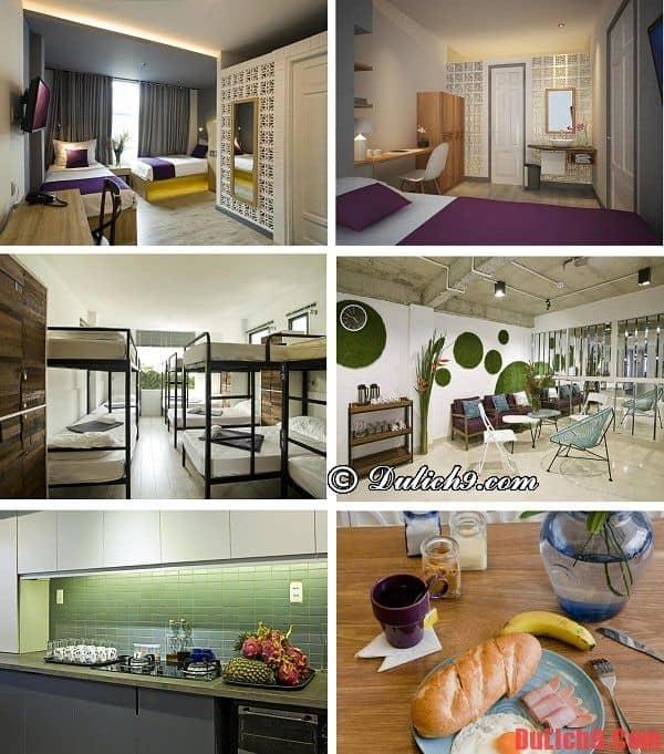 Khách sạn bình dân, giá rẻ, sạch đẹp, độc đáo, tiện nghi hiện đại, dịch vụ tốt được yêu thích nhất khu vực chợ Bến Thành