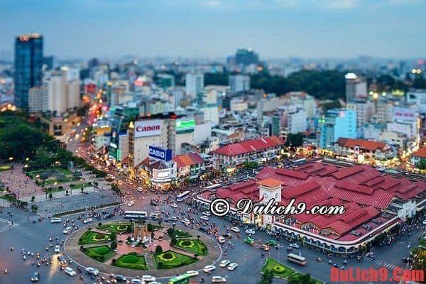 Một số khách sạn giá rẻ sạch đẹp, chất lượng, tiện nghi hút khách nhất khu vực chợ Bến Thành, Quận 1