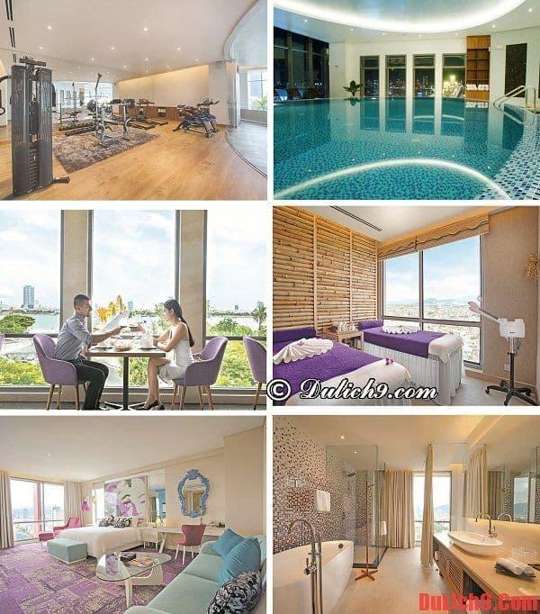 Khách sạn đẹp, cao cấp gần trung tâm Đà Nẵng có view đẹp, yên tĩnh, tiện nghi hiện đại nổi tiếng