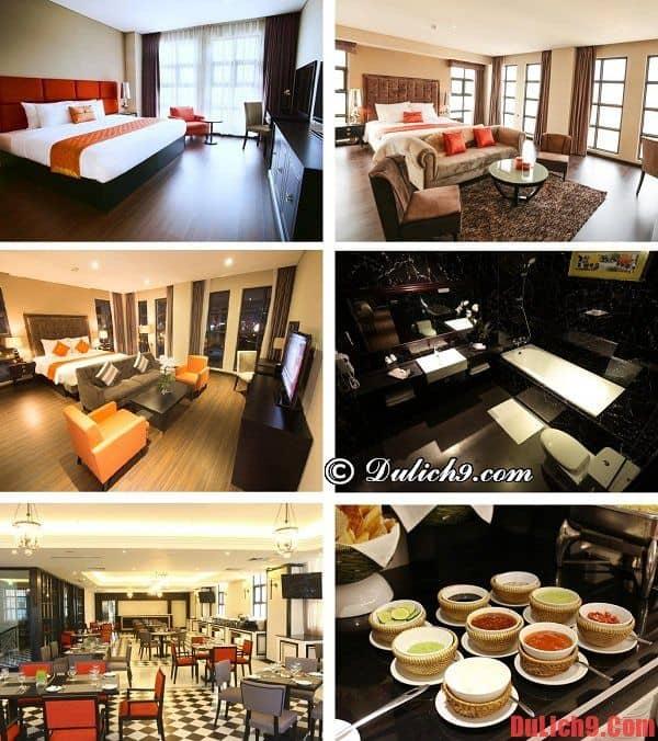 Khách sạn 3 sao cao cấp, chất lượng gần trung tâm Đà Nẵng hiện đại, đồ ăn ngon, dịch vụ tốt, được đánh giá cao, yêu thích và đặt phòng nhiều
