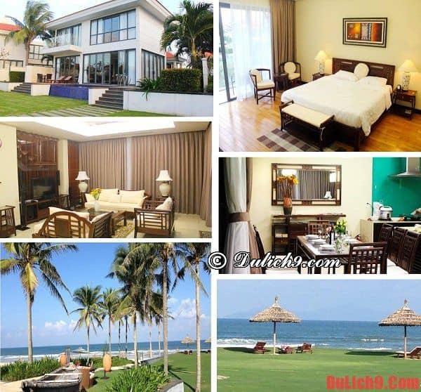 Khách sạn 5 sao cao cấp, hiện đại gần trung tâm Đà Nẵng tiện nghi, có bãi biển và bếp nấu ăn riêng được ưa chuộng và hút khách nên ở nhất khi du lịch Đà Nẵng