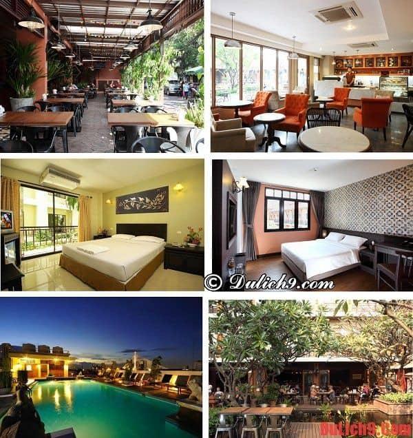 khách sạn hiện đại, cao cấp, tầm nhìn đẹp, nổi tiếng và hút khách nhất phố Khaosan, Bangkok