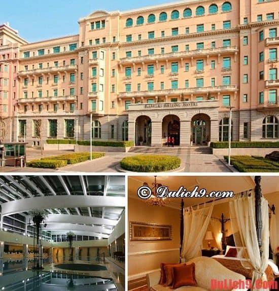Khách sạn gần điểm du lịch ở Bắc Kinh - Nên ở khách sạn nào khi du lịch Bắc Kinh? Khách sạn cao cấp ở trung tâm Bắc Kinh tiện nghi, sạch đẹp