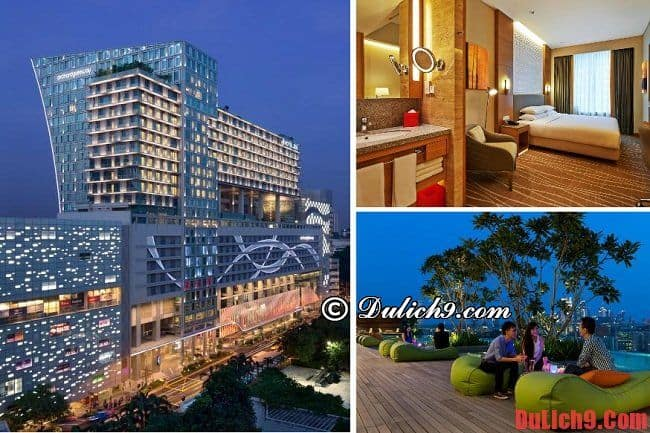 Khách sạn có tầm nhìn đẹp ở Singapore gần tàu điện ngầm MRT - Orchard