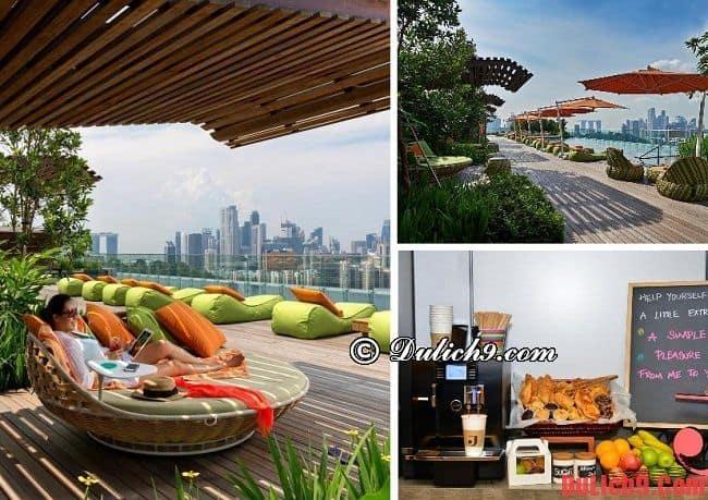 Khách sạn tốt gần ga tàu điện ngầm MRT - Orchard