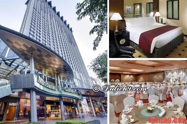 Khách sạn 5 sao tốt ở Singapore gần ga tàu điện ngầm MRT - Orchard. Nên ở khách sạn nào gần ga tàu điện ngầm MRT ở Singapore?