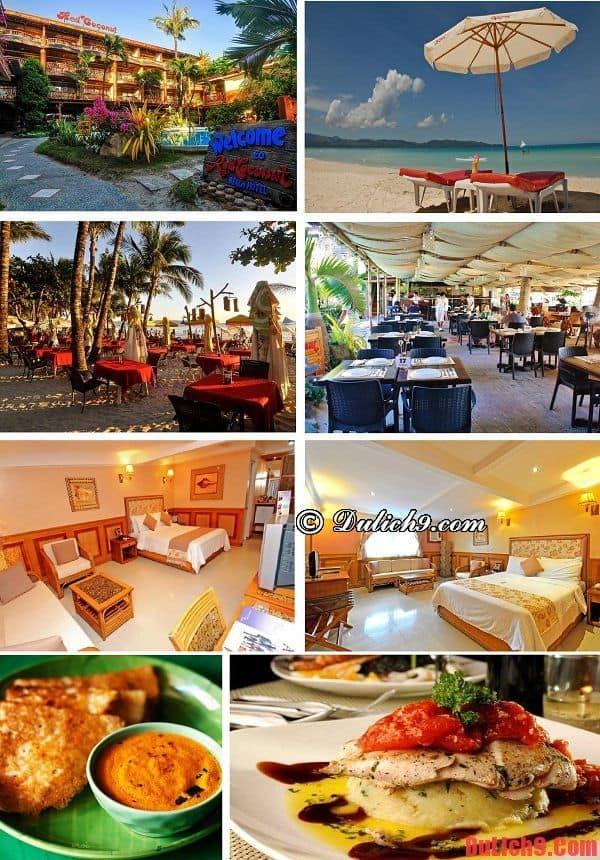 Khách sạn 4 sao đẹp, độc đáo, có bãi biển riêng, gần trung tâm và hút khách du lịch Boracay nhất