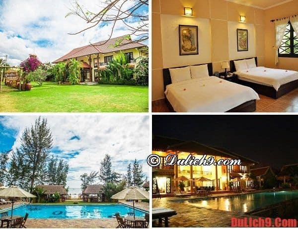 Resort 3 sao gần biển Tiến Thành
