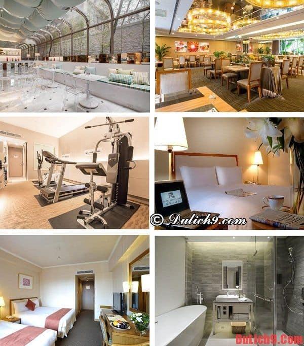 Du lịch Đài Bắc nên ở khách sạn nào? Khách sạn 4 sao cao cấp, hiện đại, tiện nghi, an toàn, dịch vụ tốt nên ở khi du lịch Đài Bắc (Taipei)