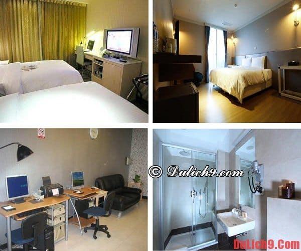 Nên ở khách sạn nào khi du lịch Đài Bắc? Khách sạn chất lượng, tiện nghi, gần ga tàu điện ngầm, được ưa thích và đặt phòng nhiều khi du lịch Đài Bắc (Taipei)
