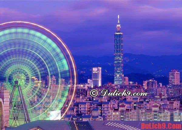 Du lịch Taipei (Đài Bắc) nên đặt phòng ở khách sạn nào tốt, đẹp, an toàn, tiện nghi, hiện đại và nổi tiếng?