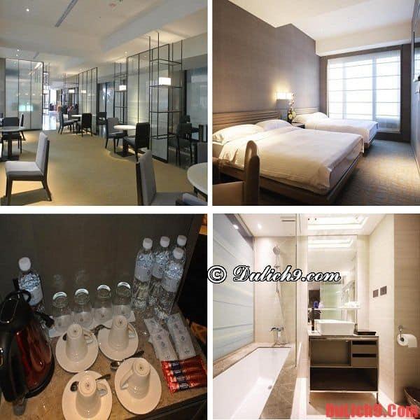 Nên ở khách sạn nào khi du lịch Đài Bắc? khách sạn 3 sao hiện đại, cao cấp, tiện nghi, giao thông thuận tiện, đẹp và hút khách nhất Đài Bắc (Taipei)