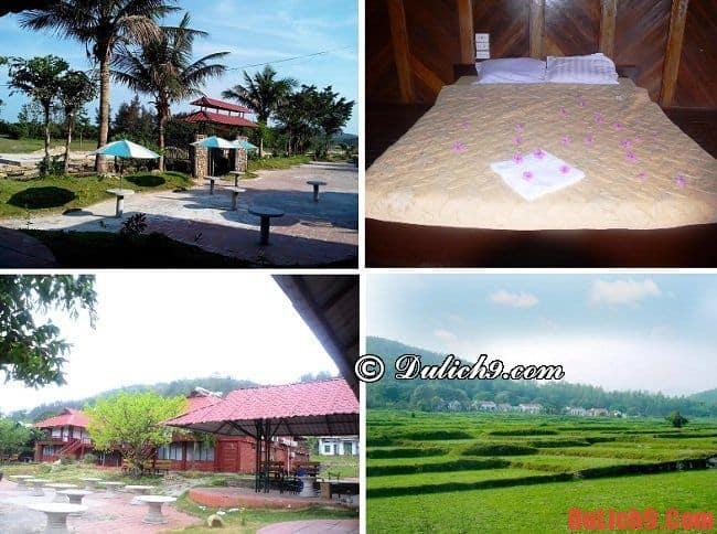 Khách sạn bình dân ở đảo Quan Lạn