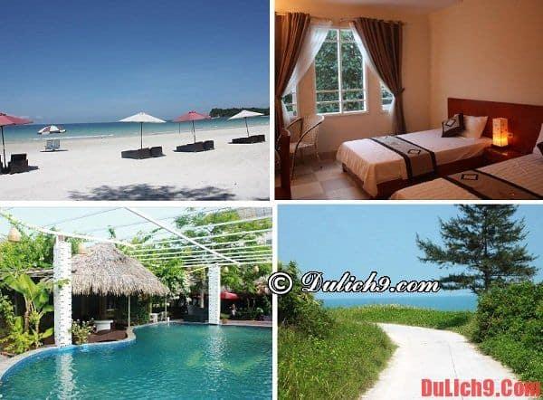 Khu nghỉ dưỡng đẹp ở đảo Quan Lạn