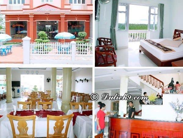 Khách sạn ở đảo Quan Lạn có vị trí đẹp