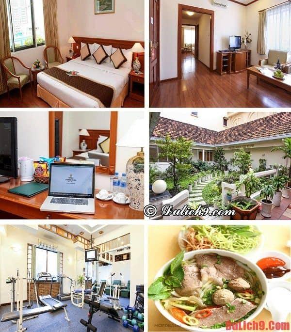 Khách sạn cao cấp đẹp, tốt, gần trung tâm Quận 1, TP.Hồ Chí Minh được đánh giá cao