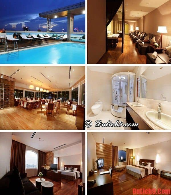 Khách sạn Sài Gòn 4 sao cao cấp đẹp, tiện nghi, dịch vụ tốt giá dưới 100 USD/đêm nổi tiếng trong khu vực chợ Bến Thành