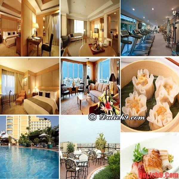 Khách sạn Sài Gòn 5 sao nổi tiếng cao cấp, hiện đại, chất lượng, dịch vụ tốt, giá dưới 100 USD/đêm được yêu thích và đặt phòng nhiều nhất trong khu vực chợ Bến Thành