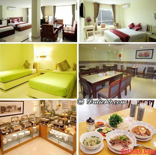 Nên ở khách sạn nào gần chợ Bến Thành? Khách sạn bình dân, dịch vụ tốt, sạch đẹp, gần chợ Bến Thành được yêu thích ở TP.Hồ Chí Minh