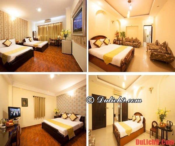Khách sạn Sài Gòn gần chợ Bến Thành giá rẻ, chất lượng, đẹp, tiện nghi nên ở nhất