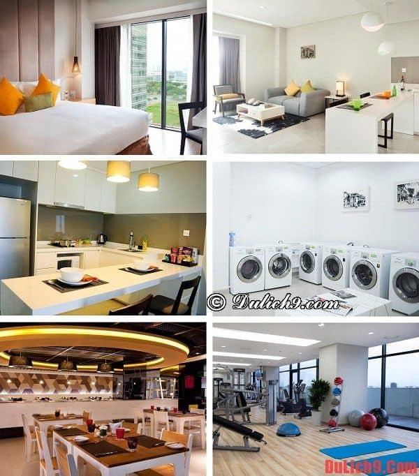 Khách sạn sang trọng, hiện đại, gần Trung tâm Hội nghị và Triển lãm Sài Gòn cao cấp, dịch vụ tốt, view phòng đẹp