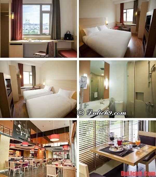 Khách sạn 3,5 sao cao cấp, hiện đại, tiện nghi, đẹp, nổi tiếng, được ưa chuộng và đặt phòng nhiều gần Trung tâm Hội nghị và Triển lãm Sài Gòn