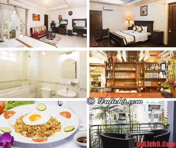 Khách sạn giá rẻ gần Trung tâm Hội nghị và Triển lãm Sài Gòn hiện đại, view đẹp, yên tĩnh