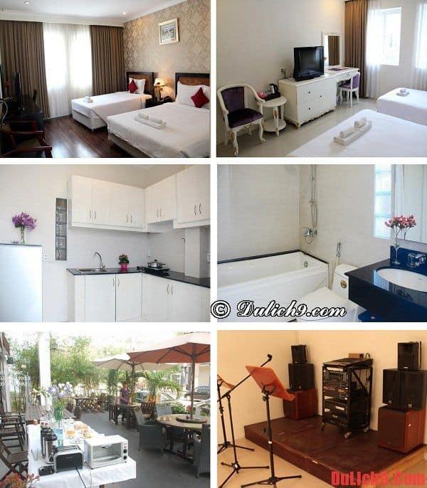 Khách sạn tầm trung, giá rẻ gần Trung tâm Hội nghị và Triển lãm Sài Gòn hiện đại, dịch vụ tốt và hút khách