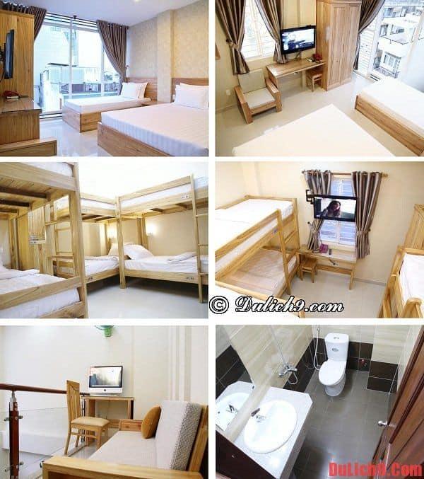Khách sạn nổi tiếng, view phòng đẹp trong khu Phố Tây Phạm Ngũ Lão, Quận 1 giá rẻ, sạch sẽ, chất lượng