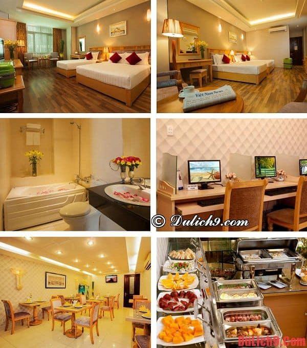 Khách sạn giá rẻ gần trung tâm Quận 1, Sài Gòn đẹp, hiện đại và chất lượng