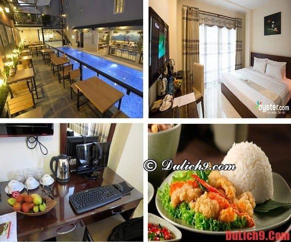 Khách sạn Sài Gòn 3 sao đẹp, độc đáo, tiện nghi hiện đại được yêu thích nhất ở đường Phạm Ngũ Lão, TP.Hồ Chí Minh