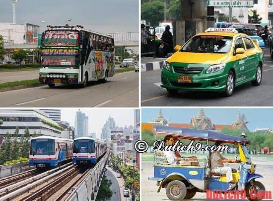 Phương tiện di chuyển trong nội thành Bangkok