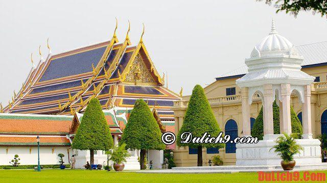 Địa điểm tham quan ở Bangkok