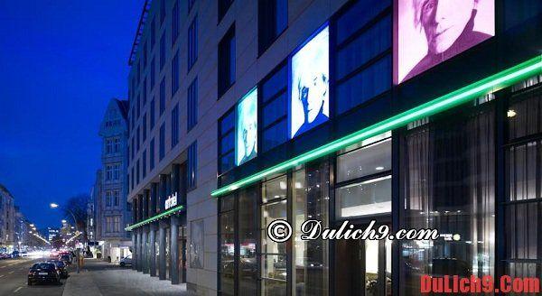 Khách sạn giá rẻ ở Berlin