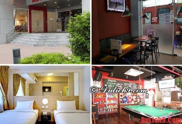 Khách sạn giá rẻ ở Manila