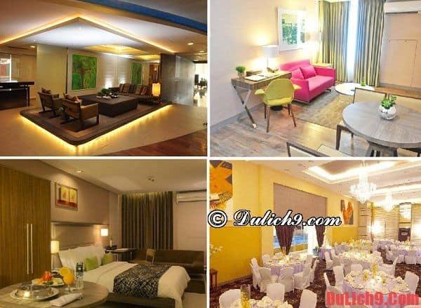 Khách sạn hiện đại, tiện nghi và nổi bật ở Manila